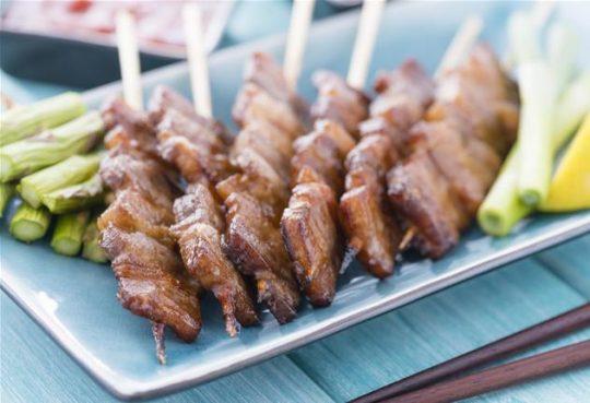 Poulet au barbecue coréen