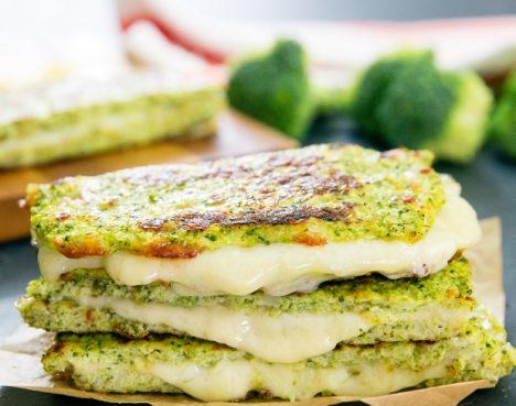 Pain au brocoli et au fromage
