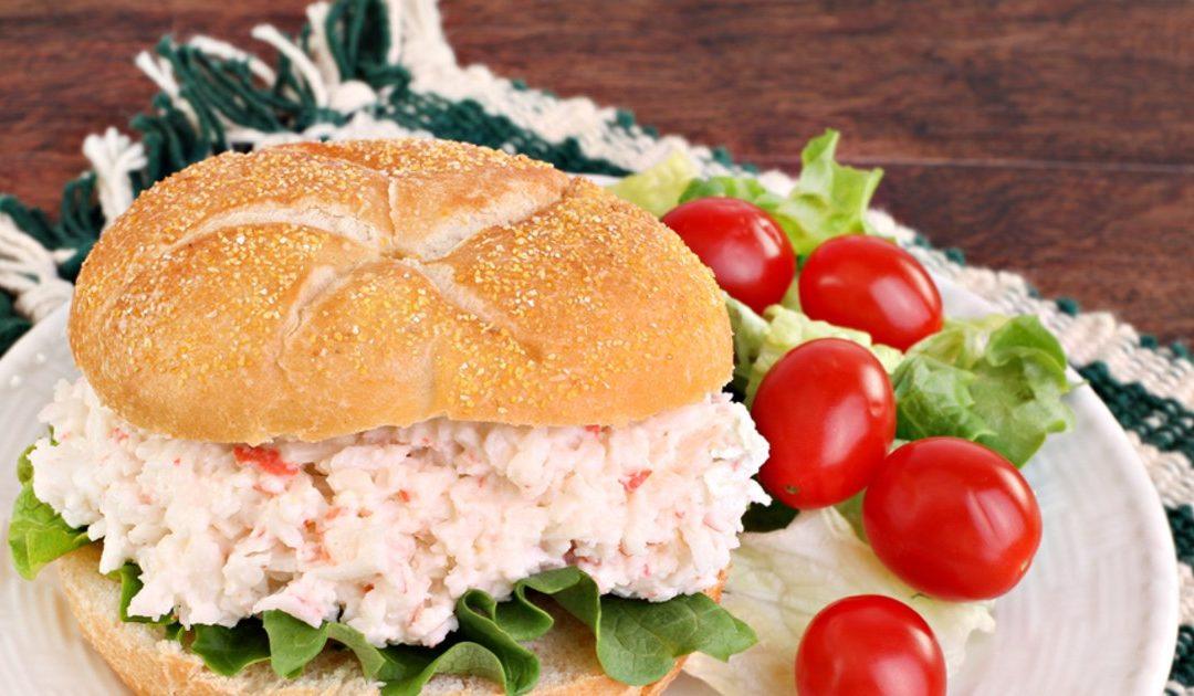 La meilleure salade de crabe