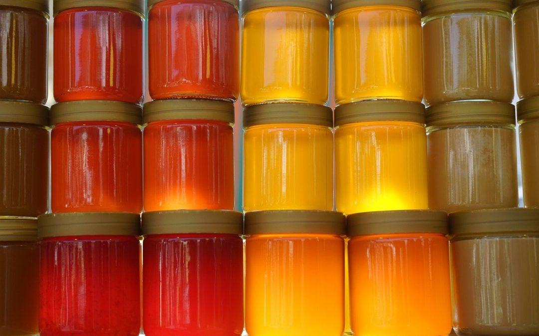 miel en bocale