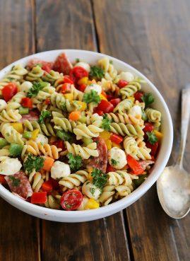 Salade de pâtes italienne - And So We Cook