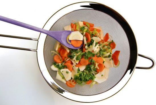 soupe avec carotte blanche