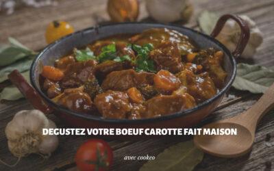 Réaliser un bœuf carotte fondant et appétissant avec Cookeo