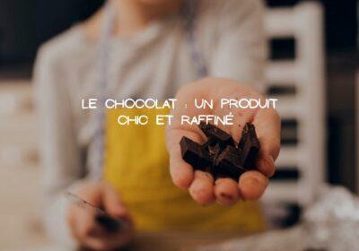 Le chocolat sous ses milliers de forme pour des plats méticuleux