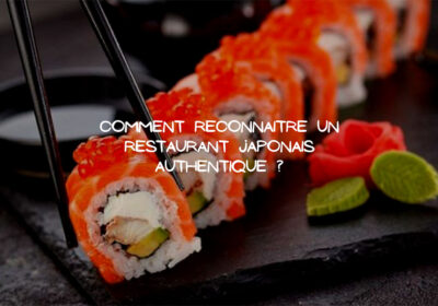Un restaurant Japonais: Un petit recoin de la culture Japonaise à l'état pur