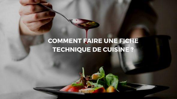 fiche cuisine