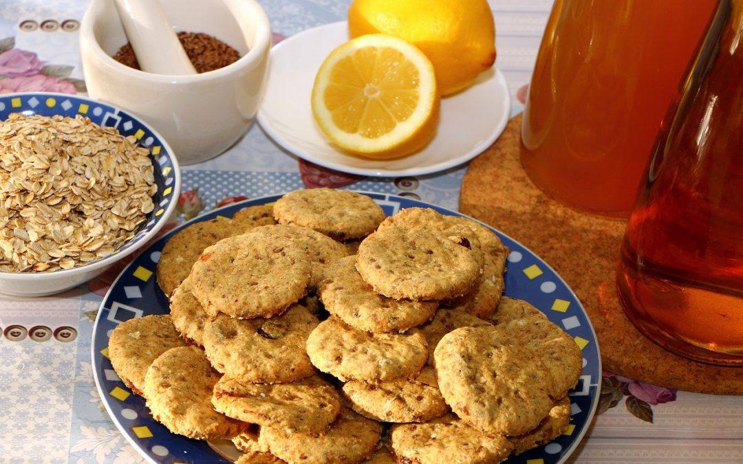 Biscuits croquants au citron